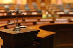 shutterstock_scales of justice in court